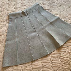 Gray Swing Skirt